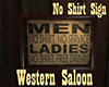 [M] WS No Shirt Sign