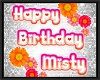 MISTY birthday balloons