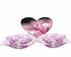 pink heart n roses