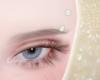 pearl eyebrow piercing