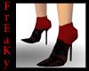 !F! Red Tina Mina heels