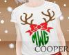 !A t-shirt reindeer Baby