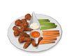 vegan seitan hot wings