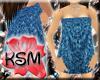 *KSM* Blue Bath Towel
