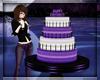 Purple Bday Cake Table