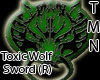 Toxic Wolf Blade (R)