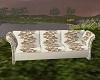 Photo sofa-white gold