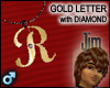 Gold Diamond R (M)
