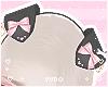 ♡ Black Puppy Ears ♡