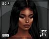 !E! Kardashian Wig BLACK