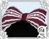 Audrey Headbow~ Wine