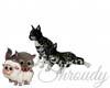 ~Snow Leopard Cubs~