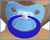 blue baby boy pacifier