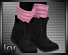 *JK* Fall Boot Pink
