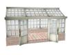 Rose garden greenhouse