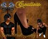 |SPG|Casual Heels Black