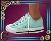 Trish Tame Teal Sneakers