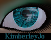 Cybernetic Eyes Teal