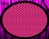 Pink/Black Poka Dot Rug