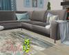 ID: Akoya grey couch
