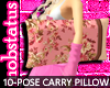 [MJ] Floral Pillow