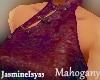Mohogany Dress