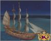 Pirate Ship captain kost