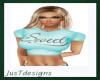 JT Sweet Tee Teal