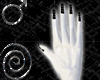 UGW Black Chain Nails