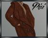 Brown Coat and Hoodie