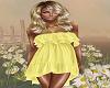 Yellow Ruffle Sundress