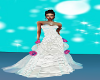 Wedding Gown With Roses