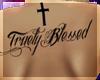 K}TruelyBlessedBackTat