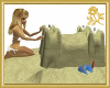 Animated Sand Castle
