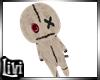 Kid Merlina Voodoo Plush