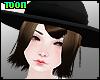 T! BRWN Hat Hair