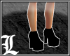 *Dy} Plain Blk Boots.5.2
