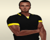 Black Yellow Polo