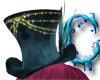 *c* Blue Victorian Hat