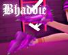 Dark Violet Spiked Shoes