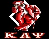 Kappa Jacket Blk Red
