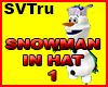 Snowman Olaf +hat 1