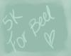 I Support Beel 5k
