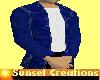 Mens Jean jacket/tee