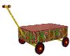 christmas candy wagon