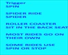 Ride Triggers Disney