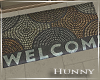 H. Welcome House Mat
