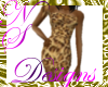 NS JUNGLE DRESS Leopard