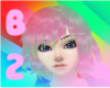 Rainbow pink f[B2]