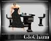 Glo* TableFor4LeatherB/G